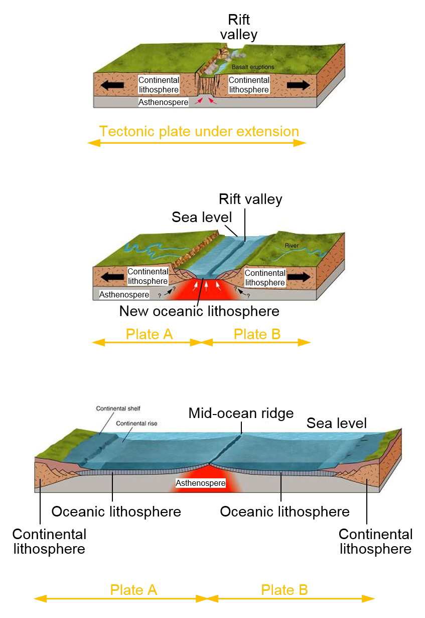 the story of sparkling water and plate tectonics divergent plate boundary click to see a larger figure